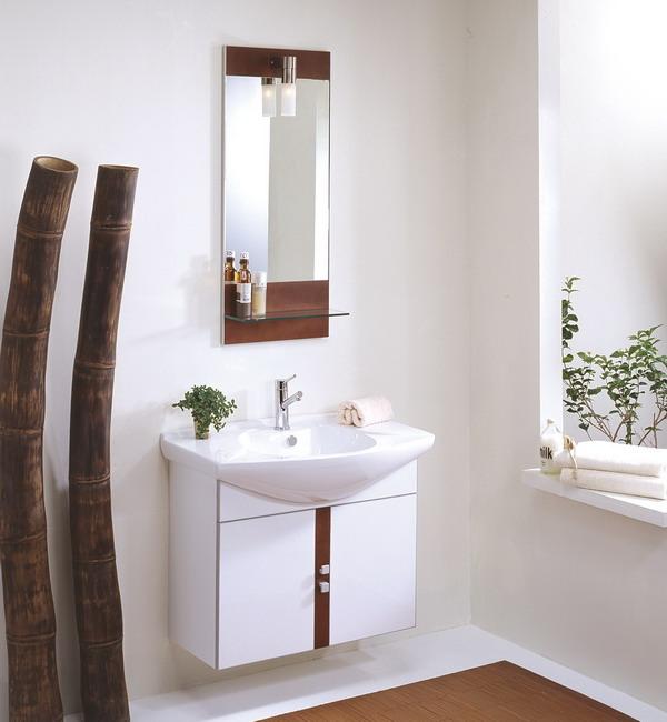Samtida fåfänga för små badrum |  Tuckr Box Decors: Nice Small