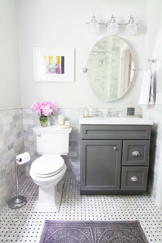 Bra idéer för fåfänga för badrum för små badrum