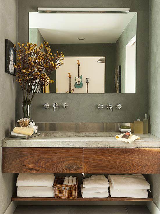 Moderna badrumsfönster |  Vackra badrum |  Pinterest