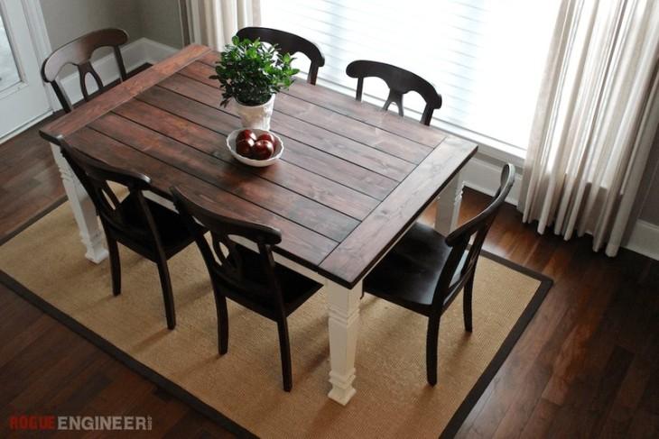 Bondgård matbord