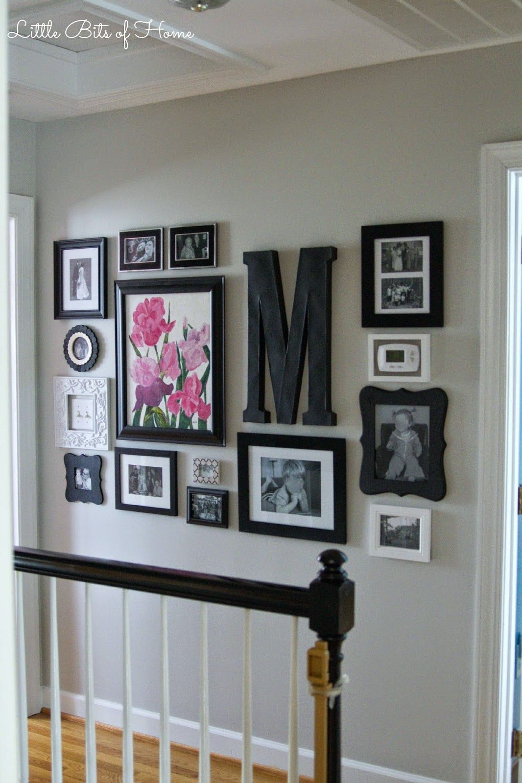 Little Bits of Home: Hall Gallery Wall
