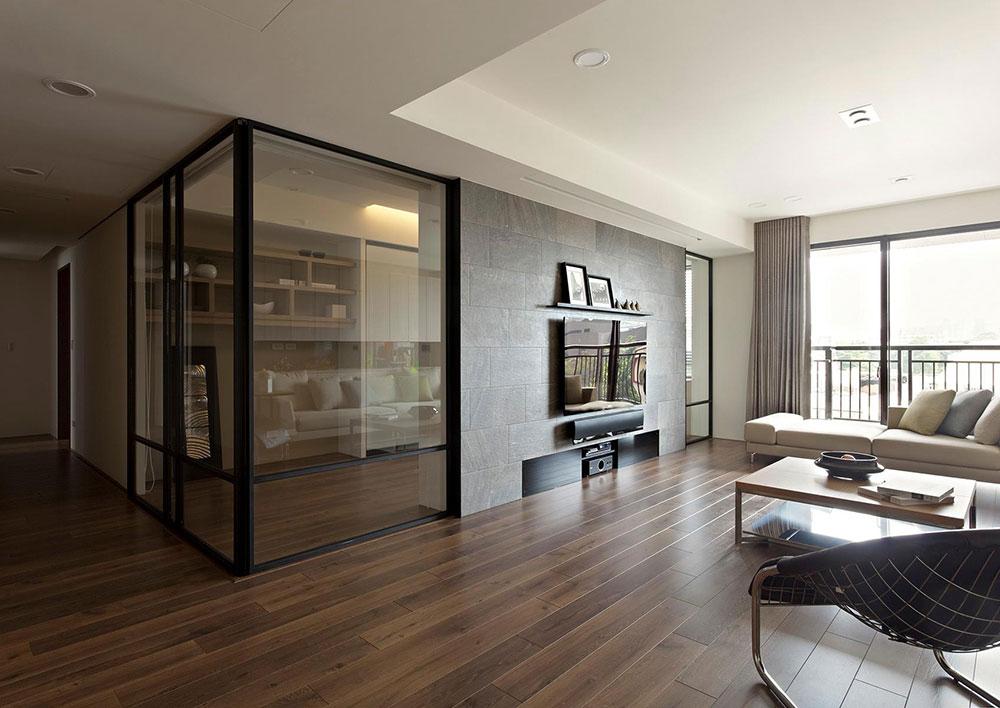 Invändiga glasdörrar 6 vackra glasprodukter för att modernisera din inredningsdesign