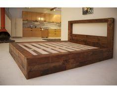 Anpassade trä sängar