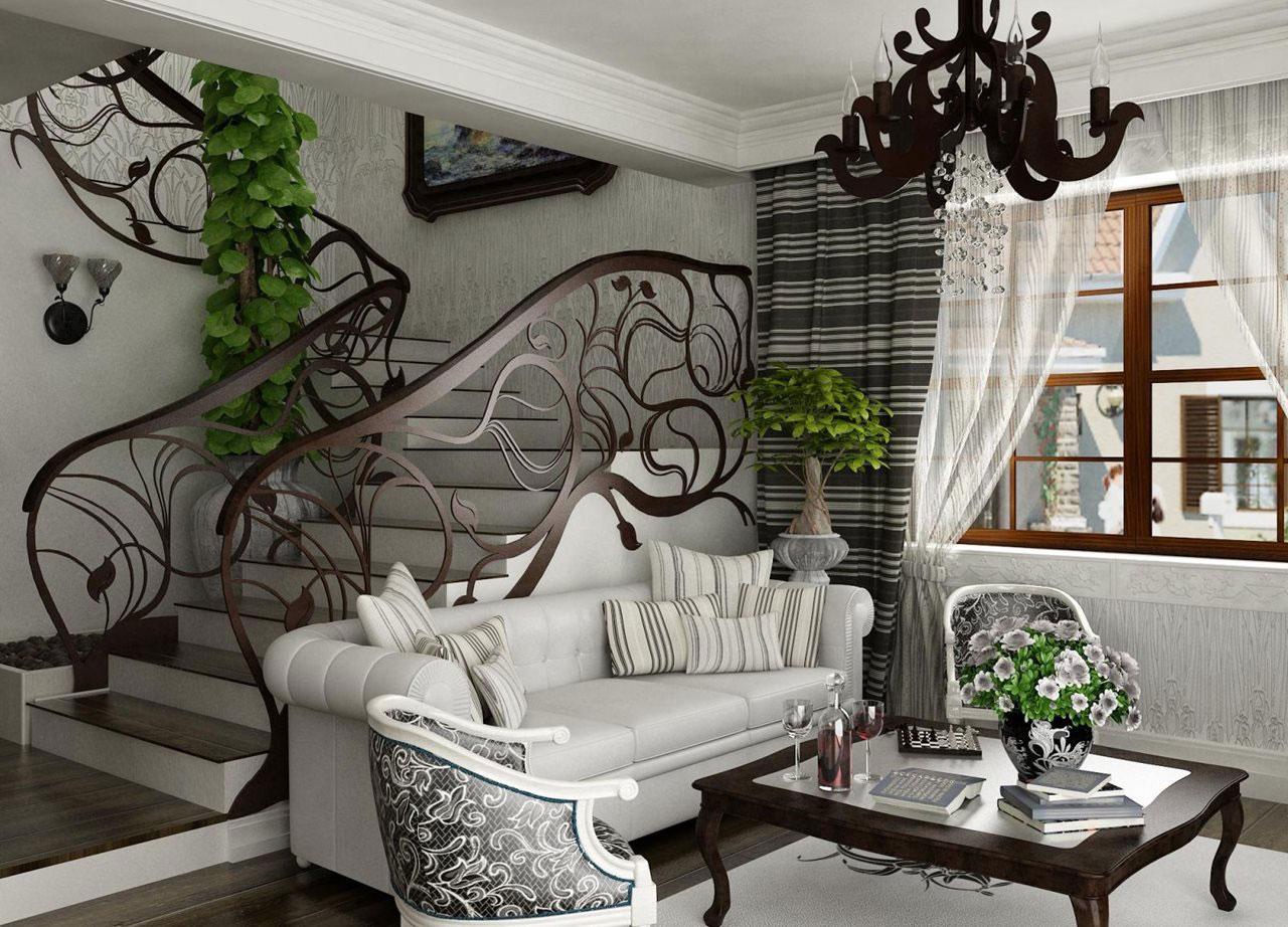 Art-Nouveau-Interior-Design-med-sin-stil-dekor-och-färger-2 Art Nouveau-Interior Design med sin stil, dekor och färger