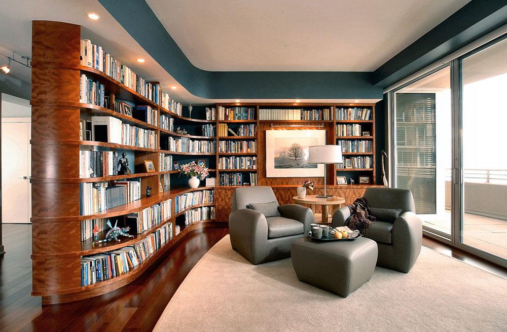 Skapa ett hembibliotek Design skapar ett avkopplande utrymme 1 Att skapa ett hembibliotek Design ger en avkopplande plats