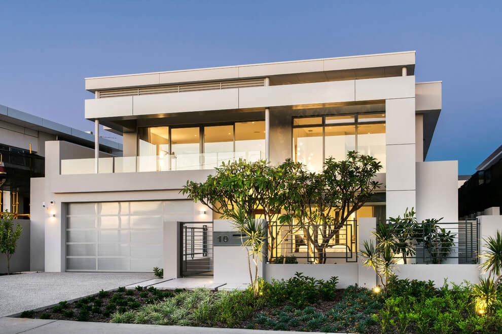 Attraktivt hus med balanserad arkitektur och inredning 1 Attraktivt hus med balanserad arkitektur och inredning