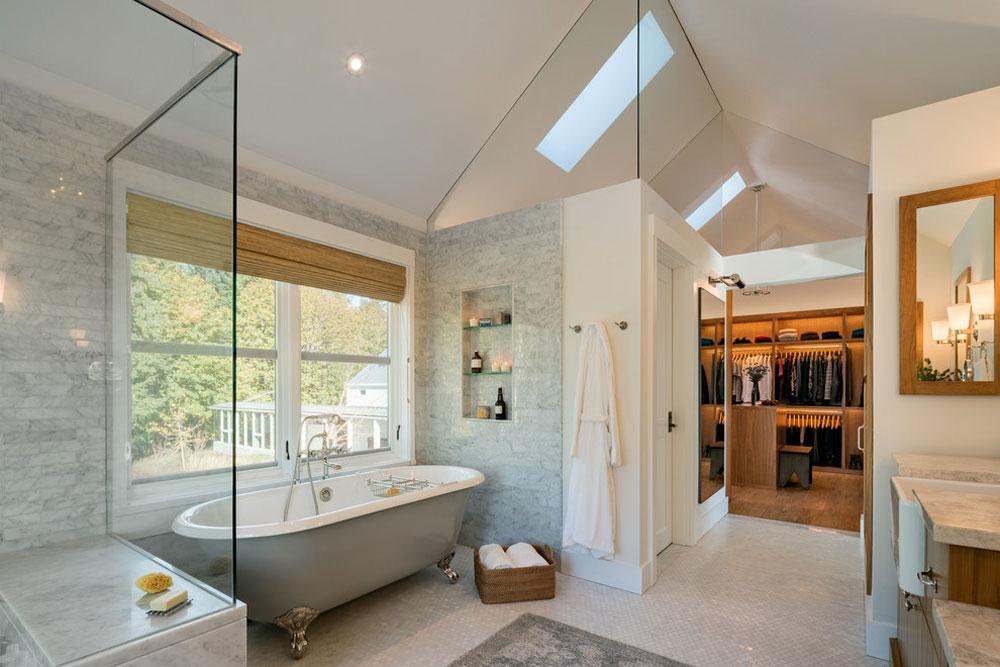 Master-badrum-av-Rockefeller-Partners-Arkitekter bondgård badrum: dekor, idéer, belysning och stil
