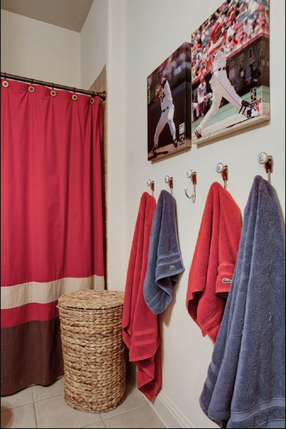 Extrem inredning: Sports Meet Bathroom Decor |  Pojkar .
