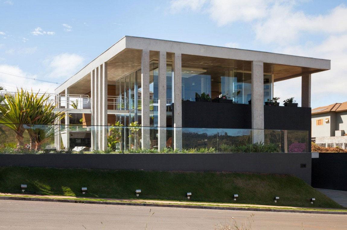 Botucatu House står som ett arkitektoniskt mästerverk 1 Botucatu House står som ett arkitektoniskt mästerverk