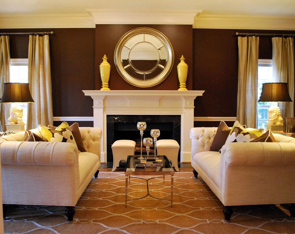 Brown-Interior-Design-är-imponerande-för-värdar-och-gäster13 Brown Interior Design är-imponerande-för värdar och gäster