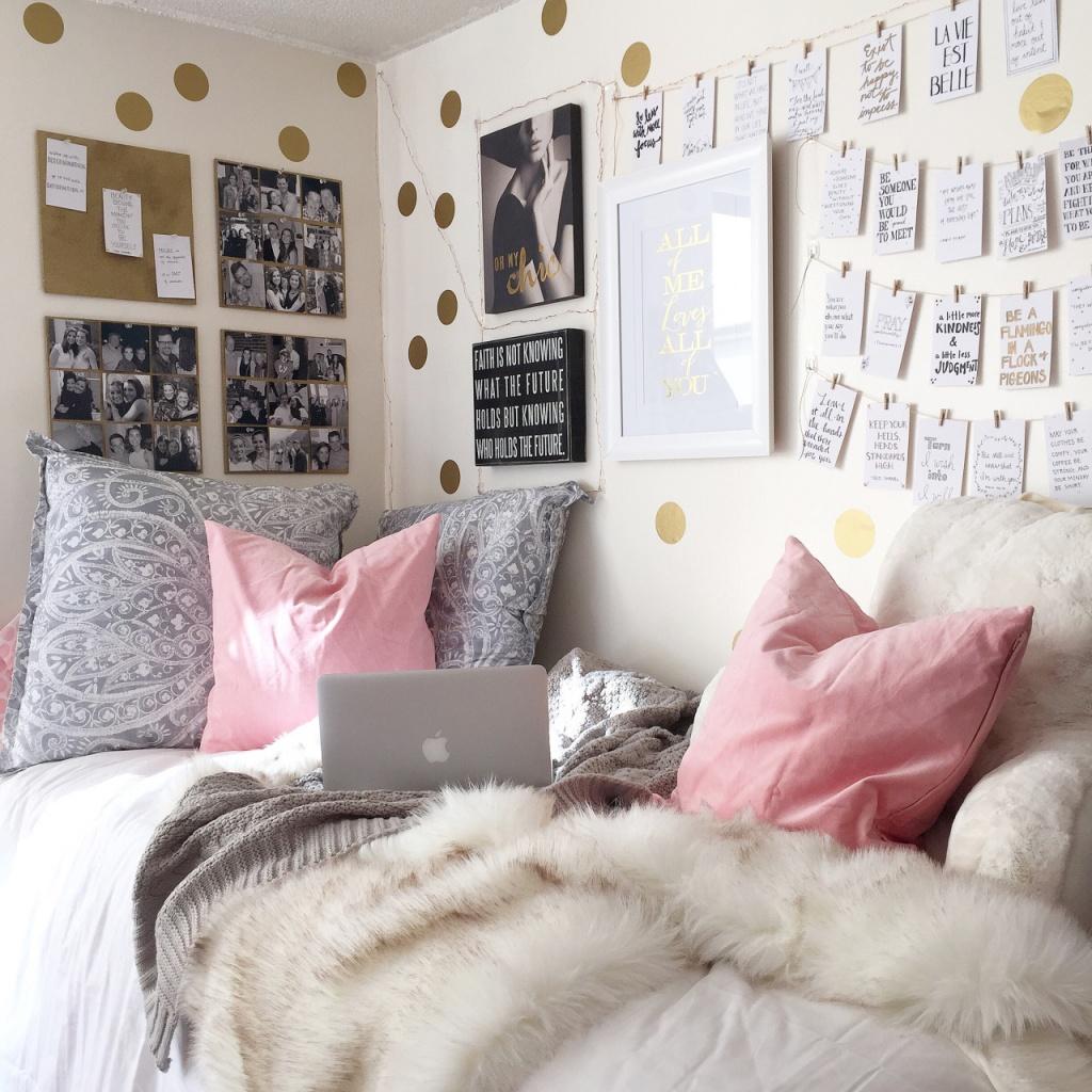Personligt college sovrum