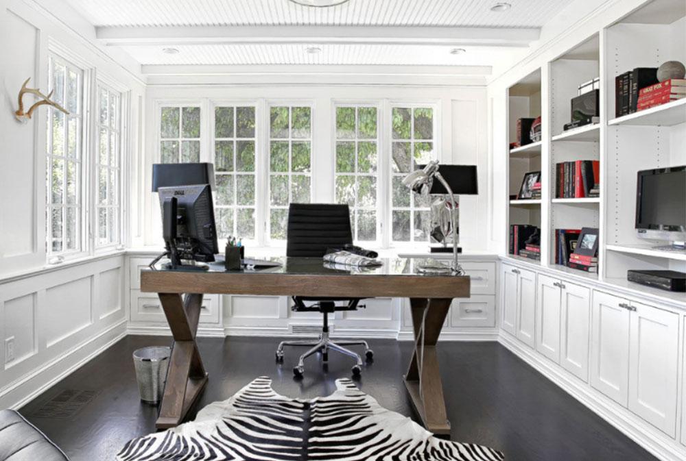 Bild-1-2 idéer för dekoration av skrivbord och stuga