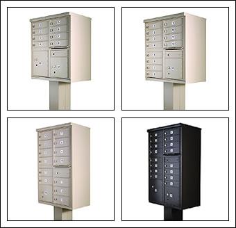 Dekorativa bostadsbrevlådor