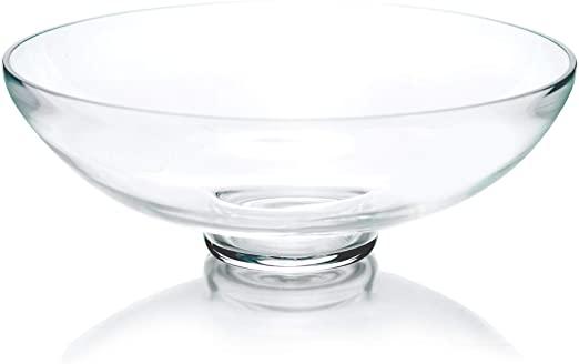 Amazon.com: CYS Excel Glass dekorativ skål (H: 4.5