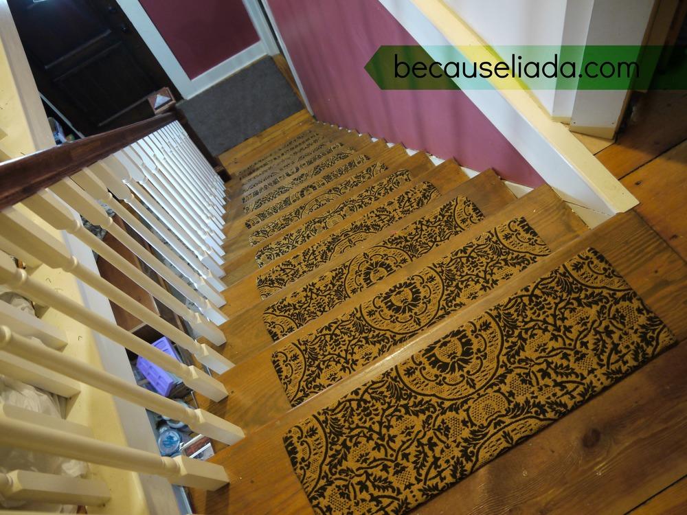 Dekorativa trappsteg inomhus