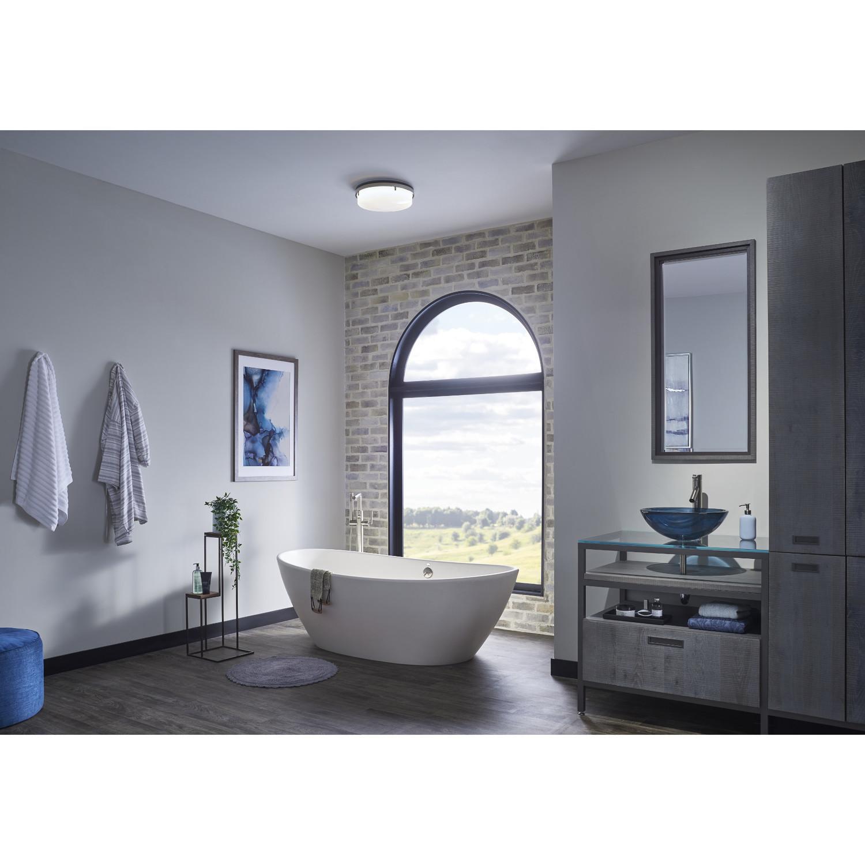 Dekorativt badrumsavgasfläkt med ljus