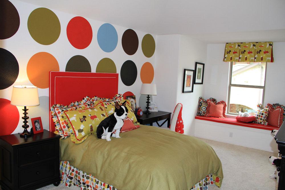 Dekorera-ditt-hus-interiör-med-prickar-2 Dekorera ditt hem-interiör med prickar