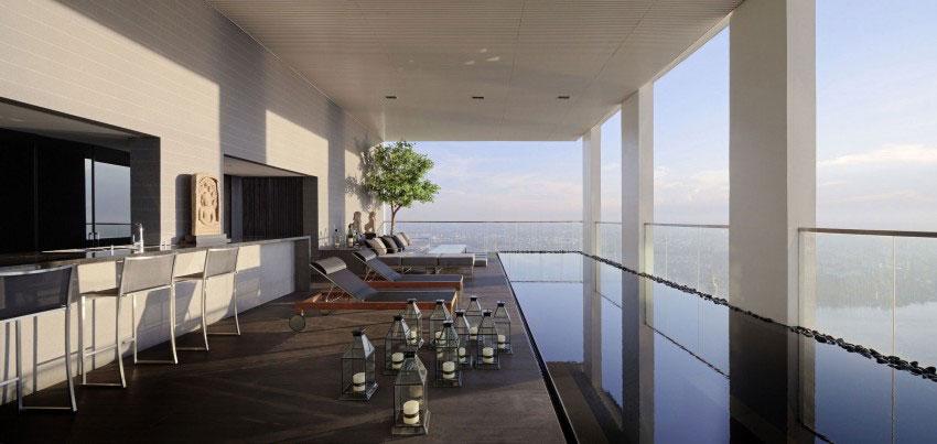 Den lyxiga PANO-takvåningen, designad av Ayutt och hans personal 1 Den lyxiga PANO-takvåningen, designad av Ayutt och hans personal