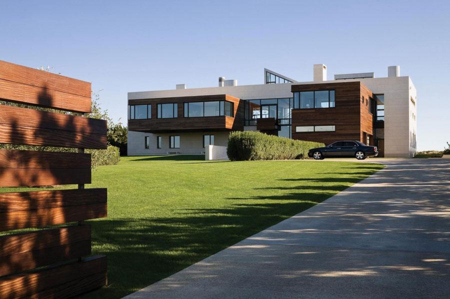 1 En arkitektonisk underverk av ett modernt hem designat av Alexander Gorlin Architects