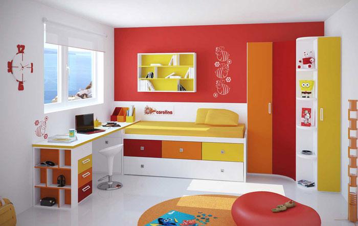 67468129423 En samling färgglada och moderna sovrumsdesigner