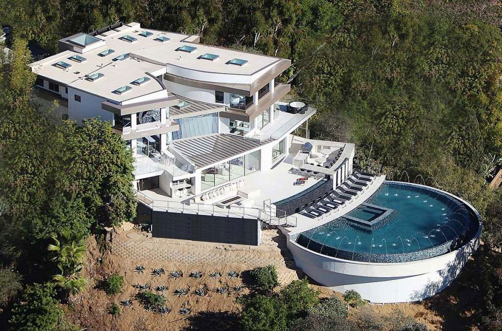 Ett modernt drömhus i Kalifornien med fantastisk utsikt 1 Ett modernt drömhus i Kalifornien med fantastisk utsikt