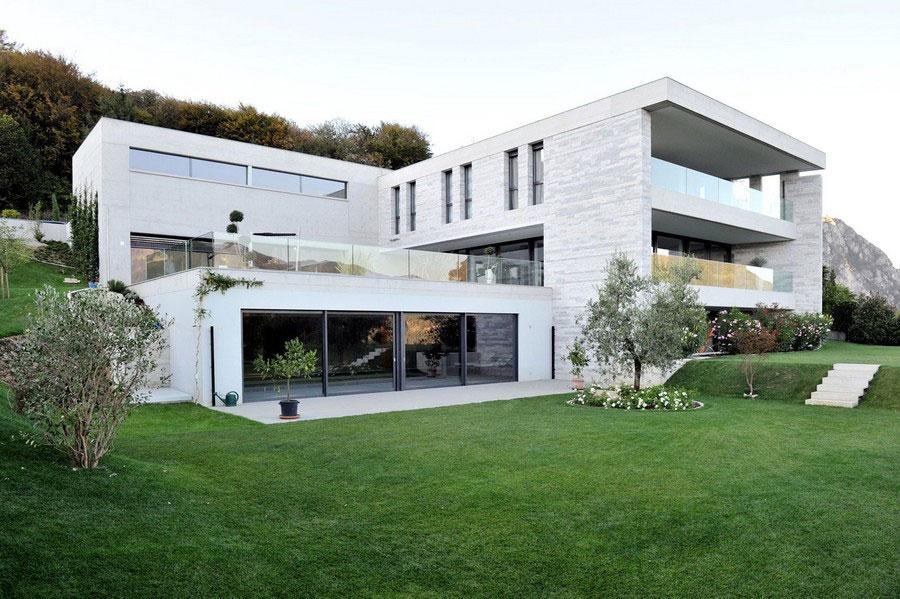 Ett unikt exempel på modern arkitektur nära sjön Lugano-1 Ett unikt exempel på modern arkitektur nära sjön Lugano