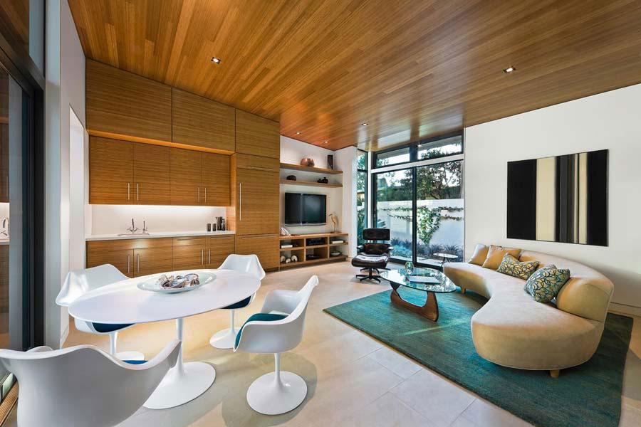 Living-and-Dining-Interior-Design-1 Exempel på inredningen i vardagsrummet-matsalen att kolla in
