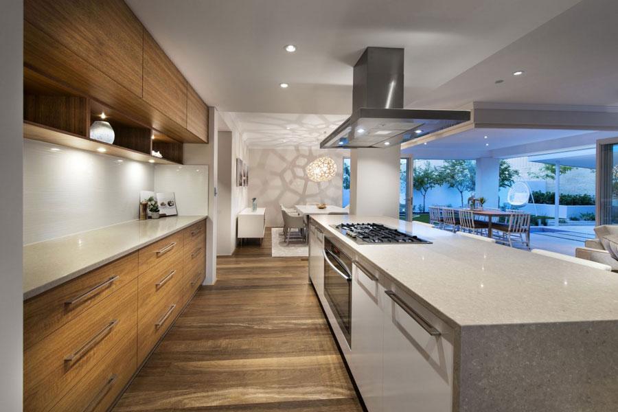 1 exempel på modern köksdesign som inspirerar dig