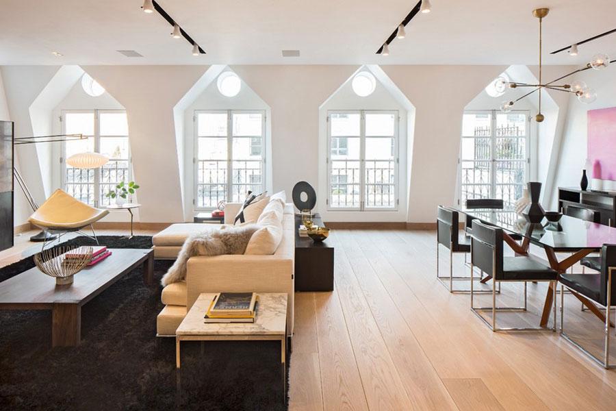 1 Magnifik Tribeca takvåning designad av Turett Collaborative Architects