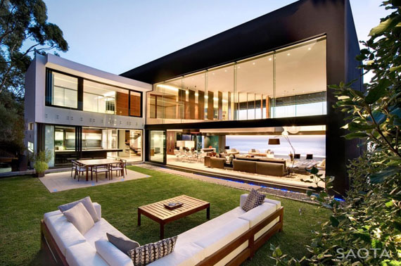 af1 Splendid House in South Africa Av SAOTA Architects och OKHA Interiors