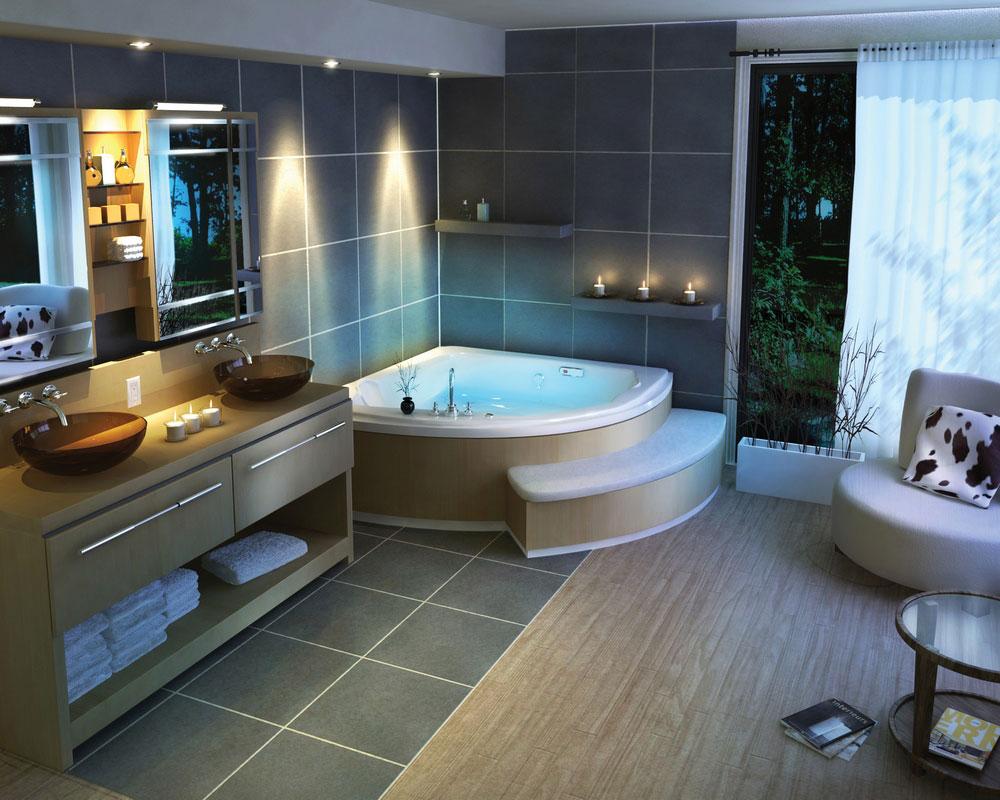Fina idéer för att dekorera ett badrum 1 Fina idéer för att dekorera ett badrum