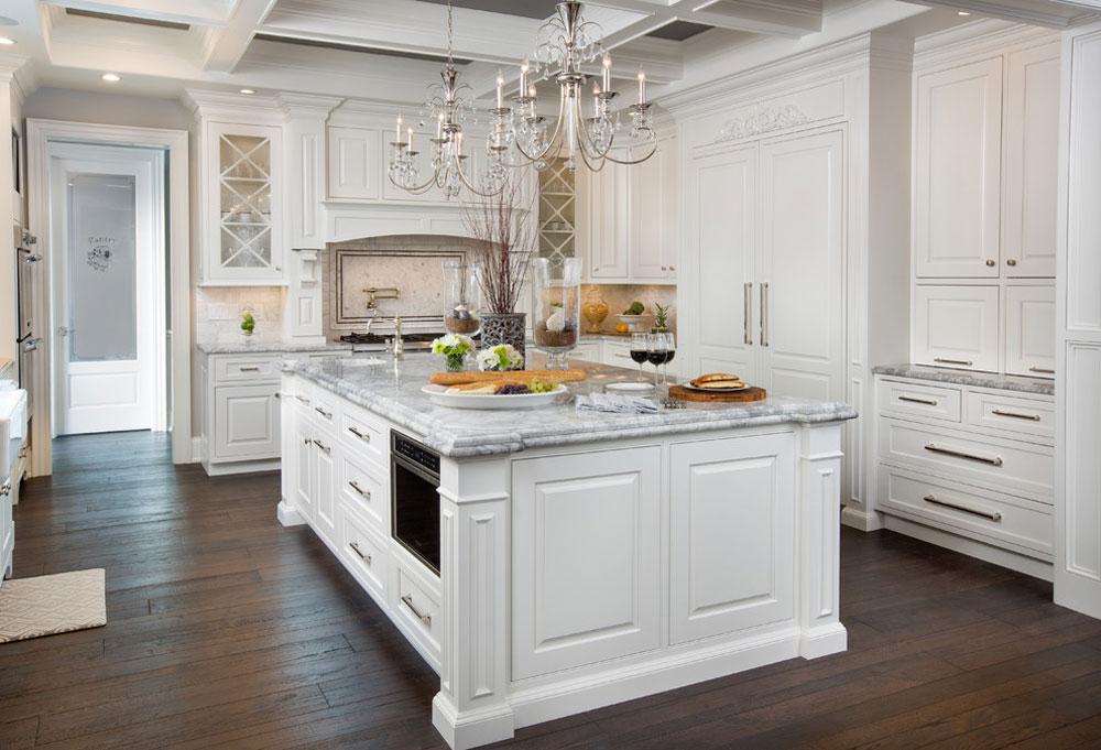 Powell-Ohio-Kitchen-by-Kitchen-Kraft Franska lantkök: dekor, skåp, idéer och gardiner