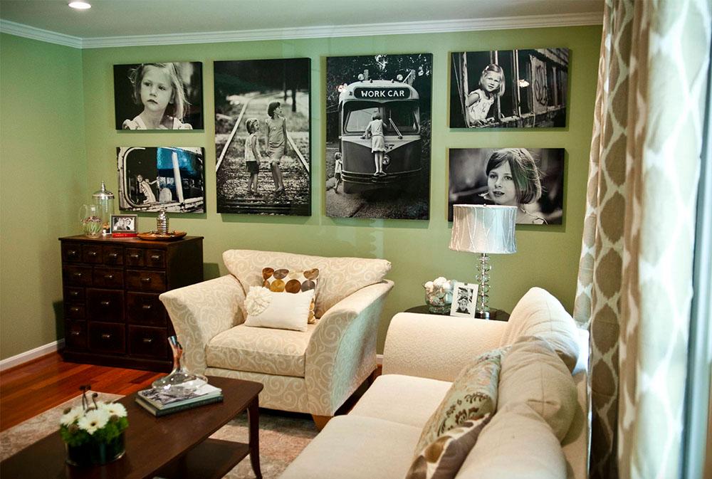 Focal-point-wall-in-new-living-room-by-April-Force-Pardoe-Interiors- Gröna vardagsrumsidéer: väggar, stolar, färg