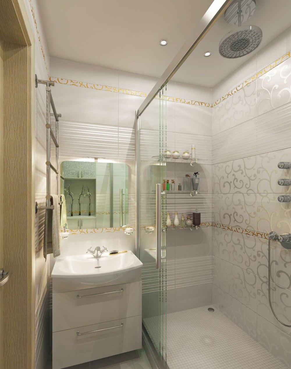 Hur man dekorerar ett litet badrum och ändå sparar plats 5 Hur man dekorerar ett litet badrum och ändå sparar plats