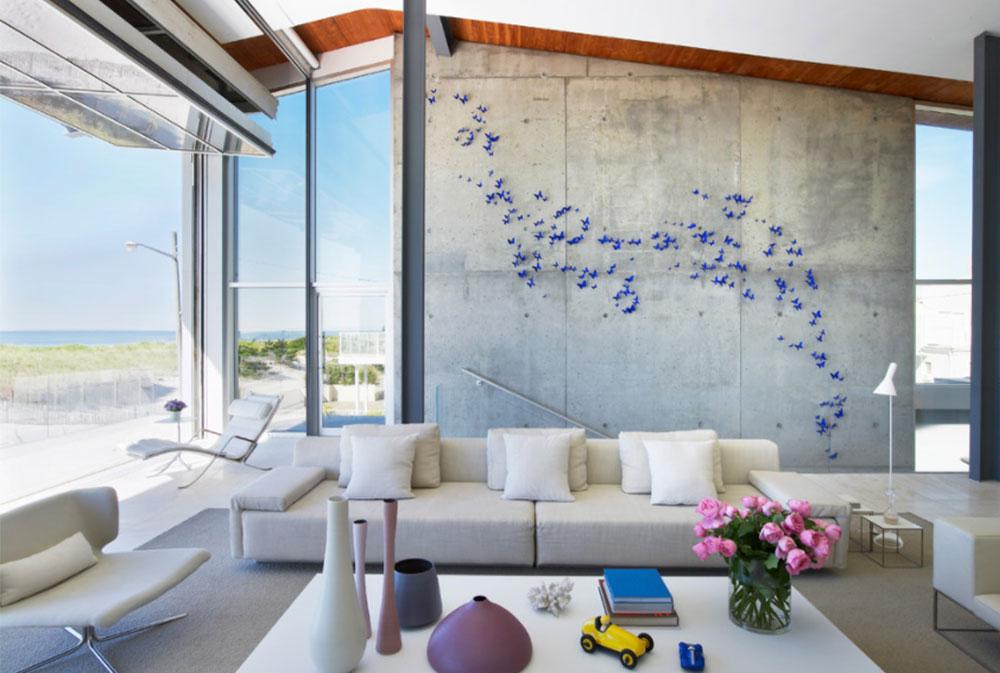 Bild-1-18 Hur man dekorerar höga väggar