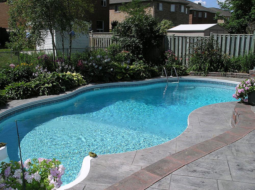 1200px bakgårdspool Hur man underhåller en pool på sommaren
