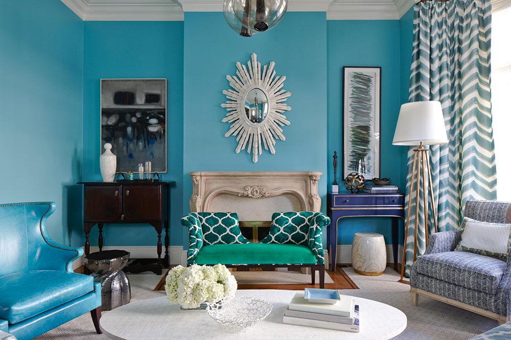 Idéer för att dekorera ditt hem med djärva färger 5 idéer för att dekorera ditt hem med djärva färger
