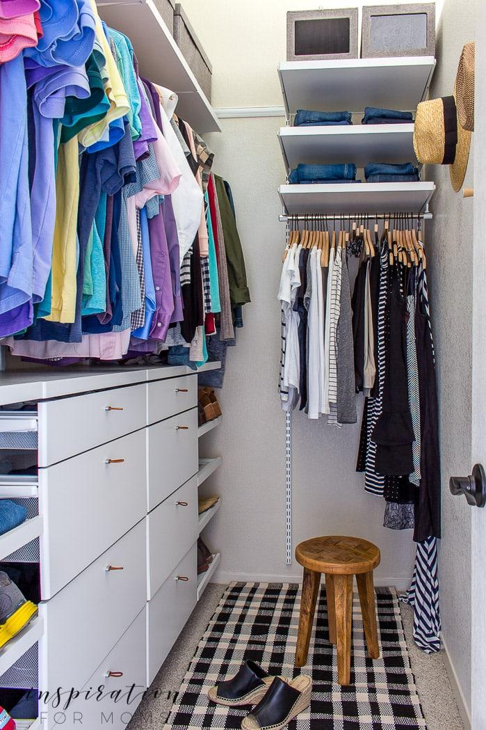 Idéer för garderobssystem