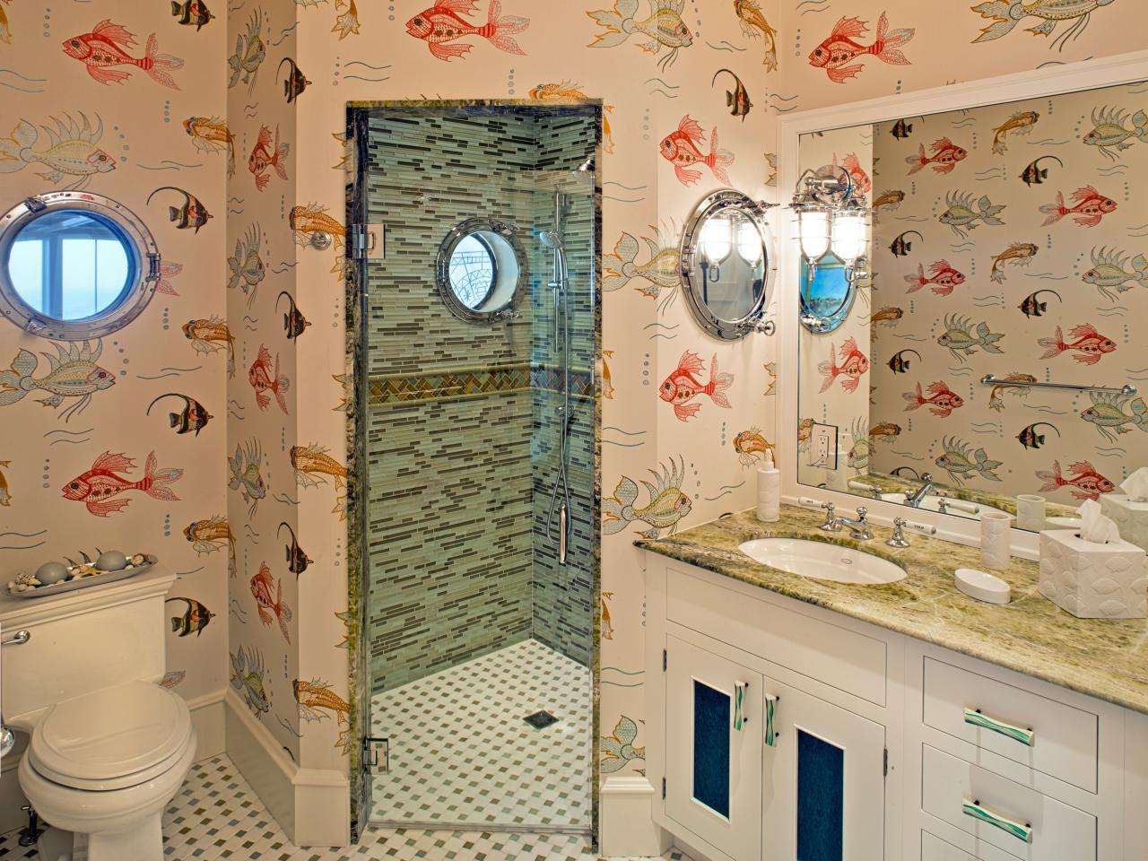 Modifierat sjöjungfru badrum