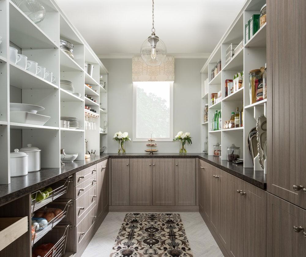 Pantry-by-The-Organised-Home Pantry Cabinet Idéer: Hyll- och förvaringsidéer för ditt kök