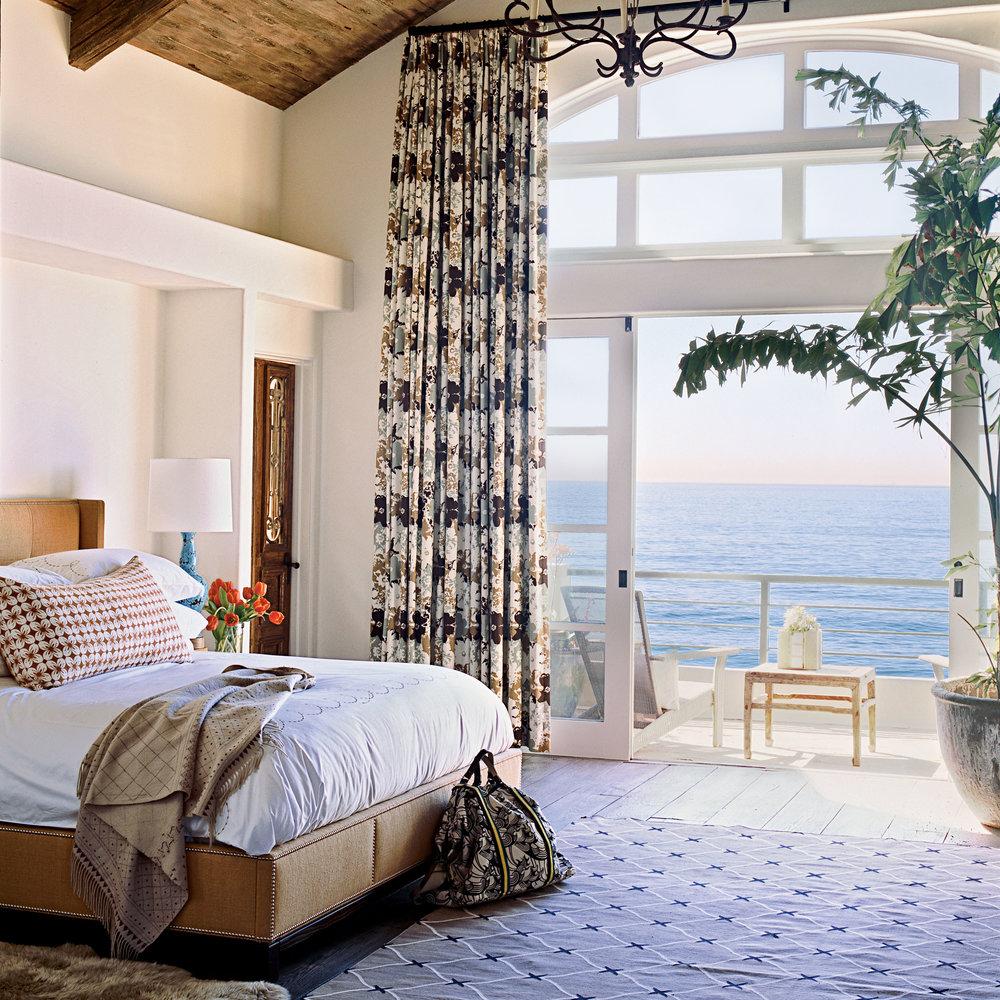 Fantastiskt sovrum vid havet