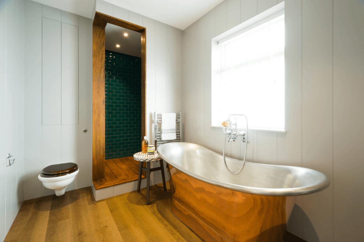 Användbar badrumsuppvärmning