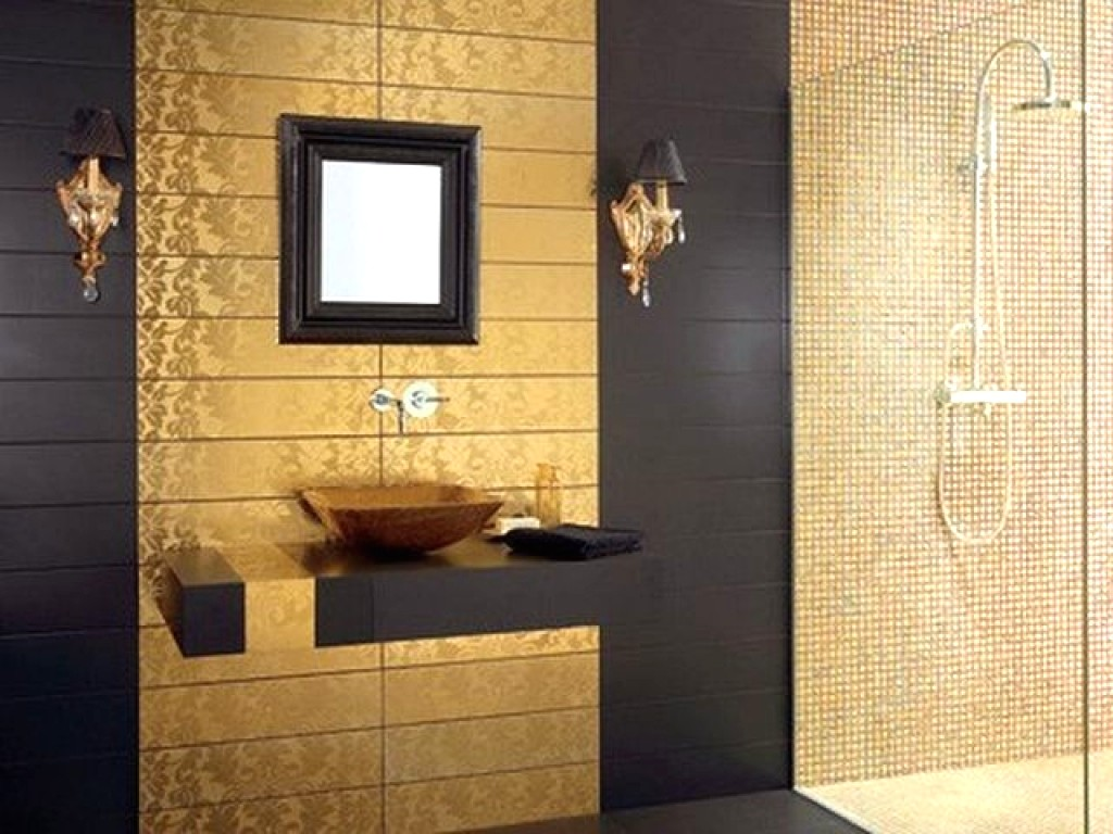 Exceptionell badrumsvägg