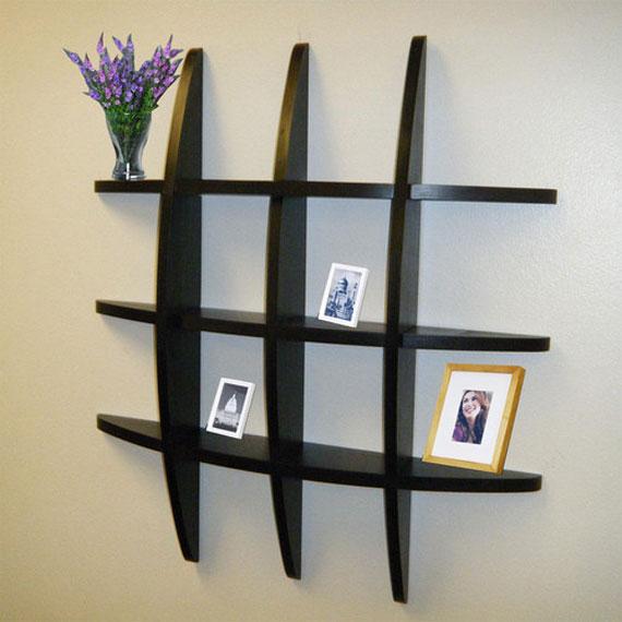 f1 Intressanta flytande bokhyllor som skulle se bra ut på dina väggar