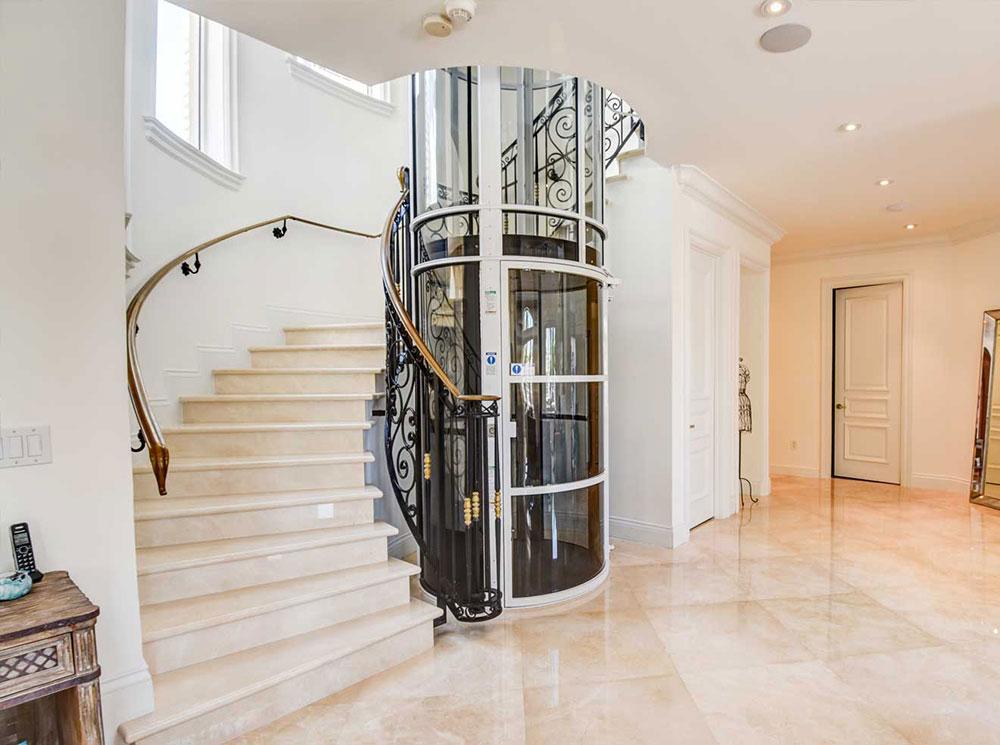 Anpassad hiss i hemmet Kan jag installera en hiss i mitt hem?