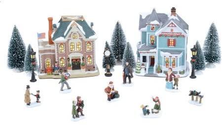 Kompletta julbyuppsättningar