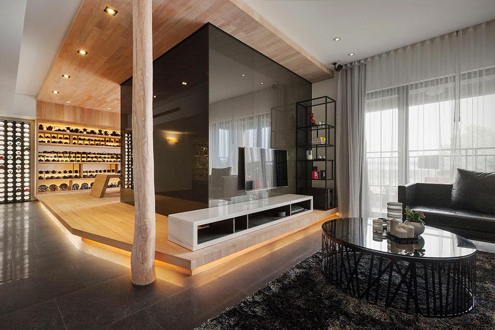 Lägenhet-omdesignad-med-ett-stort-öppet-utrymme-1 lägenhet omformat med ett stort öppet utrymme av JC Architecture