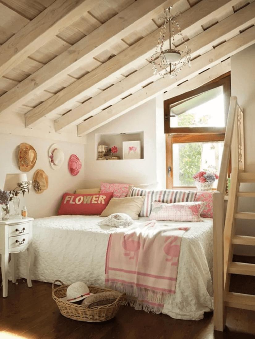 Flickromantiskt sovrum