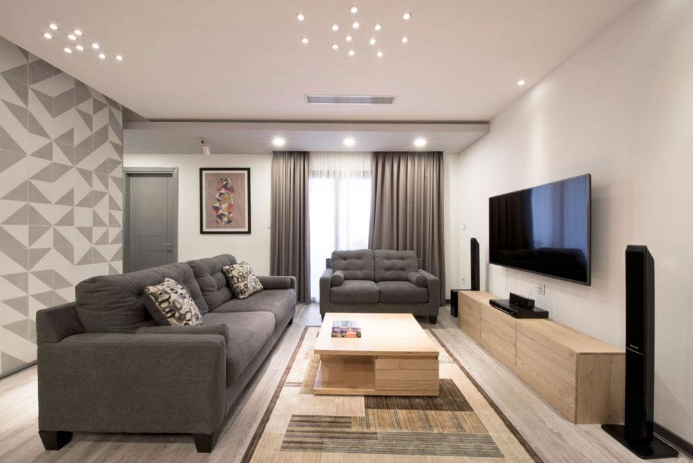 Liten men elegant lägenhet designad av Le Studio 1 Liten men elegant lägenhet designad av Le Studio