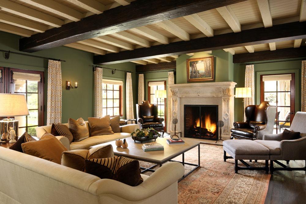 Lysande gröna nyanser för ditt vardagsrum 16 lysande gröna nyanser för ditt vardagsrum